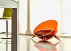 This is one seriously sexy cat bed. Hello high-end: Fluo designer pet bed by superfine