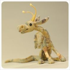 ooak Art Doll Dragon figurative Sculpture