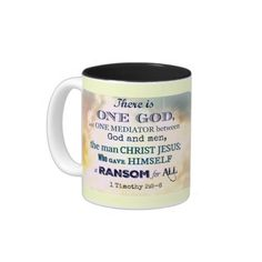 There is ONE God - Scripture Mug