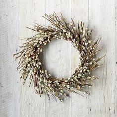 Door Wreaths, Decorative Wreaths & Garland Hangers   Williams-Sonoma