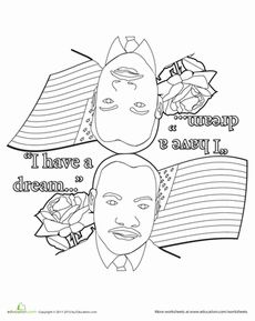 color a mandala for martin luther king jr day - Martin Luther King Jr Coloring Pages