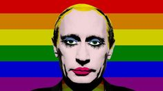El gobierno ruso prohibe la difusión del meme de Vladimir Putin maquillado - Noticias gays en Universo Gay