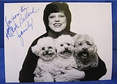 "Kaye Ballard -  About 4"" by 6"". Signed: ""Love from the Kaye Ballard family!""cgi.ebay.com"
