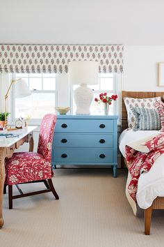 Bathroom Humor Decor A Colorful Maine Beach House by Katie Rosenfeld. Bathroom Humor Decor A Colorful Maine Beach House by Katie Rosenfeld Living Area, Living Spaces, Living Room, Riverside House, New England Homes, White Furniture, Painted Furniture, Lewis Furniture, Cabin Furniture