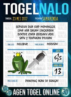 Paito JP 6D Togel Wap Online TogelNalo Samarinda 23 Mei 2017
