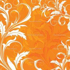 Orange Background   Orange background   Stock Vector © Elena Garbar #4062687