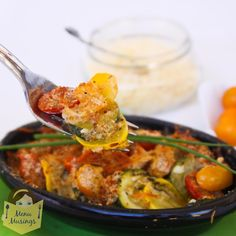 Menu Musings of a Modern American Mom: Parmesan Zucchini Gratin