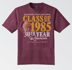 class of 1985 30th reunion t shirt - Class Reunion T Shirt Design Ideas