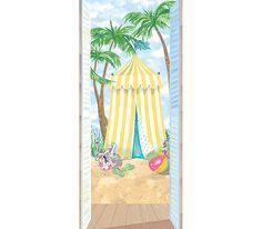 beach cabana - inside the house
