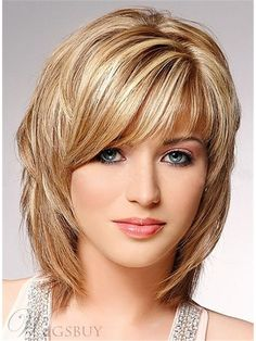 wavy-medium-length-hairstyles-shoulder-length-hairstyles-medium-updos-for-shoulder-length-layered-hair.jpg pixels, click now for more info. Medium Long Hair, Medium Hair Cuts, Short Hair Cuts, Medium Hair Styles, Curly Hair Styles, Medium Curls, Short Wavy, Shag Hairstyles, Straight Hairstyles
