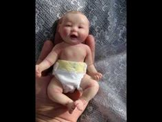 OOAK clay baby sculpt.(