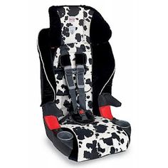 from Life on Manitoulin blog  - Britax Frontier Cowmooflage
