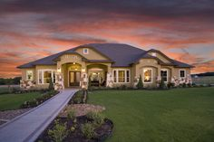 Everything's Included by Lennar, the leading homebuilder of new homes for sale in the nation's most desirable real estate markets. Ryland Homes, Roof Lines, New Home Designs, New Homes For Sale, Real Estate Marketing, San Antonio, Building A House, Floor Plans, House Design