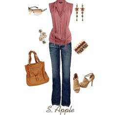 """Pinky"" by sapple324 on Polyvore"