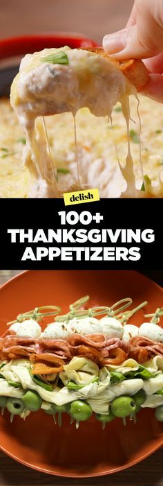 We've got over 100 appetizer ideas that will blow your guests away. Get the recipes on Delish.com.
