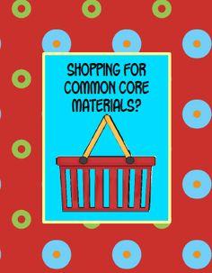 Common core materials