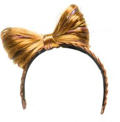 How to Make a Lady Gaga Hair Bow Head Band. Could be a dollar store craft!