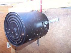 Light bulb heater  --  chicken coop