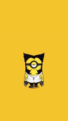 2015 creative Wolverine Despicable Me minion iphone 6 wallpaper for Halloween - here are iphone 6 2015 Halloween wallpaper ☆ that'll blow your mind ◎ by lauraa_lackovic