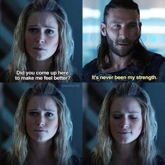"""I wanted more of Roan! still upset about his death. """"God Complex"""" - Clarke and Roan Roan The 100, King Roan, The 100 Serie, Lexa The 100, The 100 Show, Black Sails, Make Her Smile, Clexa, Bellarke"""