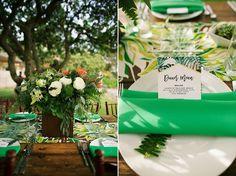 Retro Tropical Hawaii Wedding : Bajan Wed -  Anna Kim Photography - Wedding by Bliss Wedding Design & Spectacular Events
