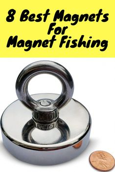 8 Best Magnets For Magnet Fishing 2019 [Buying Guide Included] Crappie Fishing Tips, Fishing 101, Fishing Rigs, Fishing Quotes, Gone Fishing, Carp Fishing, Trout Fishing, Fishing Tackle, Fishing Stuff
