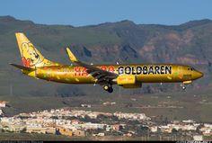 TUIFly Haribo livery @ LPA Boeing 737-8K5