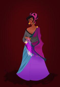Historical Disney Princesses , Esmeralda