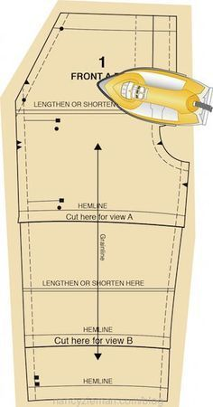 Learn the Absolute Easiest Way of How to Layout a Sewing Pattern by Nancy Zieman. As seen on the Sewing With Nancy TV Show, The Absolute Easiest Way to Sew—A Beginner's Sewing Guide.