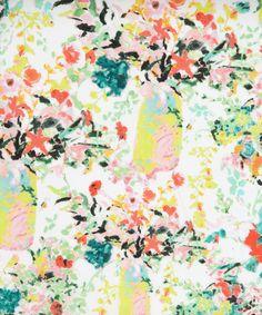 Hugo Grenville C Belgravia Satin, Liberty Art Fabrics. This would make such a lovely wallpaper. Motifs Textiles, Textile Patterns, Textile Prints, Print Patterns, Floral Prints, Art Prints, Floral Fabric, Textile Design, Fabric Flowers