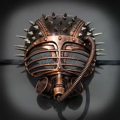 Discover recipes, home ideas, style inspiration and other ideas to try. Style Steampunk, Steampunk Mask, Steampunk Design, Steampunk Diy, Steampunk Fashion, Steampunk Theme, Dark Costumes, Burning Man Art, Mask Painting