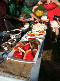 garden party foods   Garden party finger food