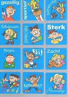Ik ben... -kaartjes om kinderen zelf te laten nadenken over hun eigen kwaliteiten. (deel 2)