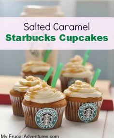 Yummy Starbucks cupcakes❤️❤️❤️