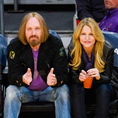 Tom Petty and Dana York Tom Petty Wife, Tom Petty Lyrics, Holding Court, Star Track, My Tom, Thanks For The Memories, Still Love You, Music Icon, George Harrison