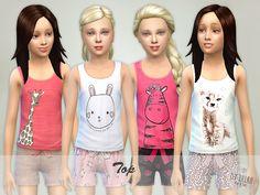 Sims 4 Child Female