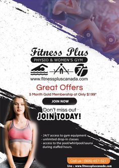 Specials - Gym in Brampton Beauty Spa, Fun Workouts, Gym Equipment, Join, Weight Loss, Drop, Events, News, Fitness