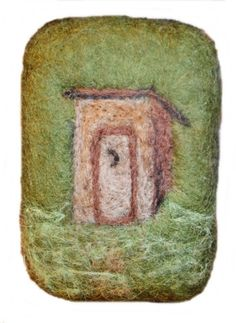 Outhouse Felted Soap