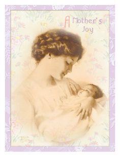 A Mother's Joy  by Bessie Pease Gutmann