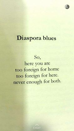 Diaspora blues By: Ijeoma Umebinyuo