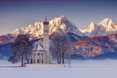 St. Coloman, Bavaria,Germany by Stefan Gerzoskovitz