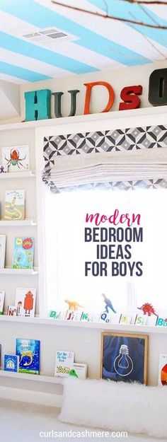 Modern Bedroom Ideas for Boys, bedroom ideas for kids, little boy rooms, toddler boy bedroom, kids bedrooms