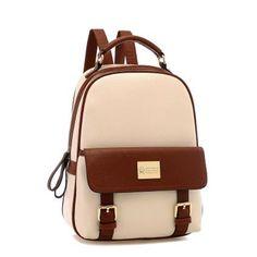 Girls PU School Travel Backpack Bag
