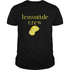 Get yours cool Lemonade Crew Cute Lemonade Stand Workers Best Gift Shirts & Hoodies. #gift, #idea, #photo, #image, #hoodie, #shirt, #christmas