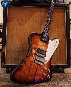 #TGIFF #FirebirdFriday! Who's playing this weekend? (Photo from @gibsondaily) #gibson #gibsonfirebird #studio33guitar