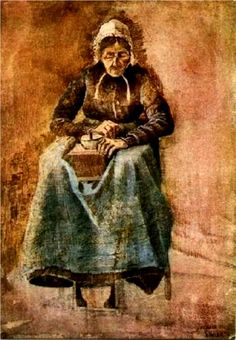 Vincent van Gogh: Woman Grinding Coffee.