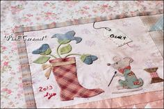 """Patchwork *Pink Caramel*: The Top Finished!! """"Quilt Me Club 2013"""""""