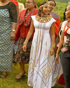 American Gypsy Wedding Dress Designer Best Of Olakira Beaded Maasai Gowns Ethnic Maasai ornaments Elegant African Wedding Dress, African Print Dresses, African Fashion Dresses, African Dress, African Outfits, African Weddings, Traditional Wedding Attire, Traditional Outfits, African Attire