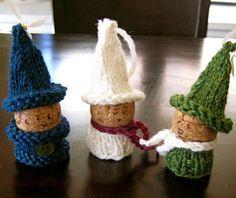 Winter craft - wine corks
