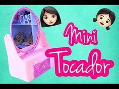 DIY MINI TOCADOR PARA NIÑAS - YouTube